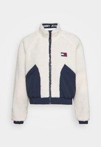 REVERSIBLE JACKET - Winter jacket - twilight navy/white
