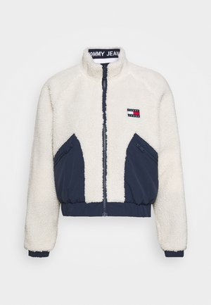 REVERSIBLE JACKET - Chaqueta de invierno - twilight navy/white