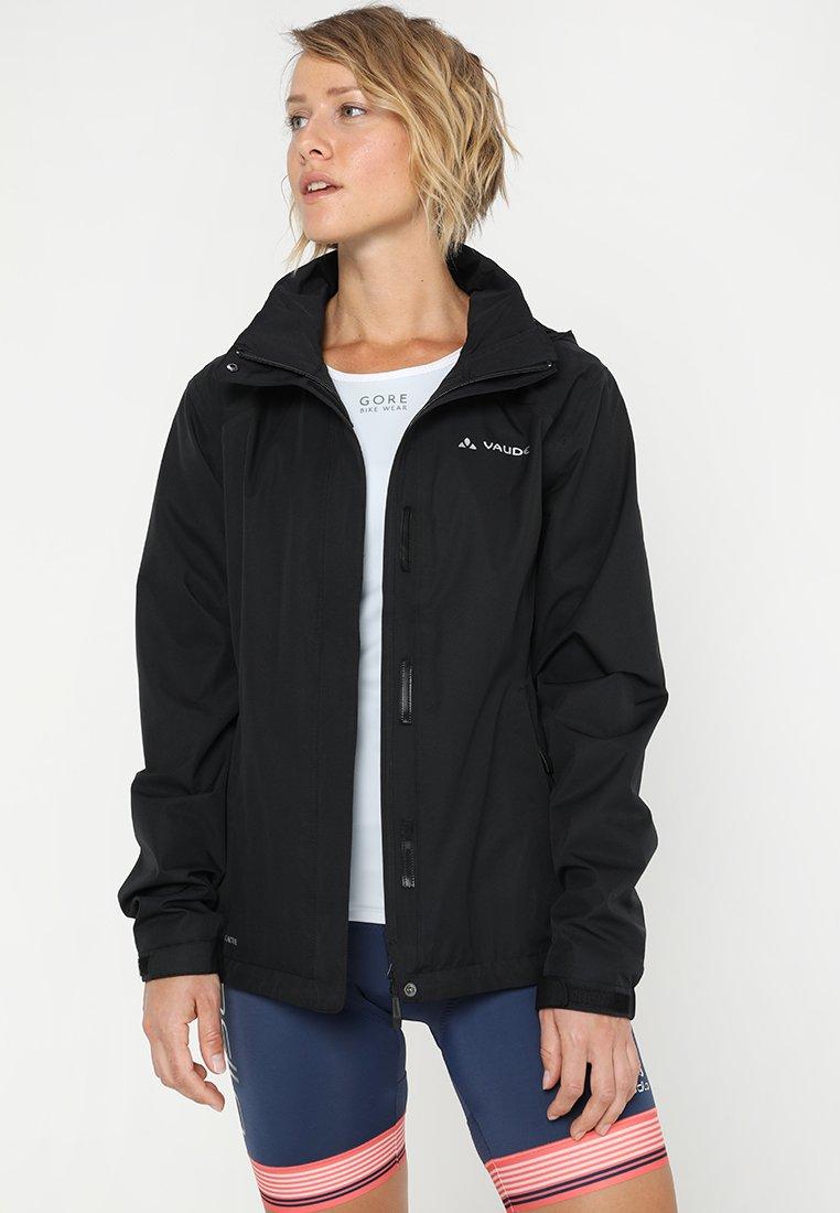 Vaude - WOMENS ESCAPE BIKE LIGHT JACKET - Waterproof jacket - black