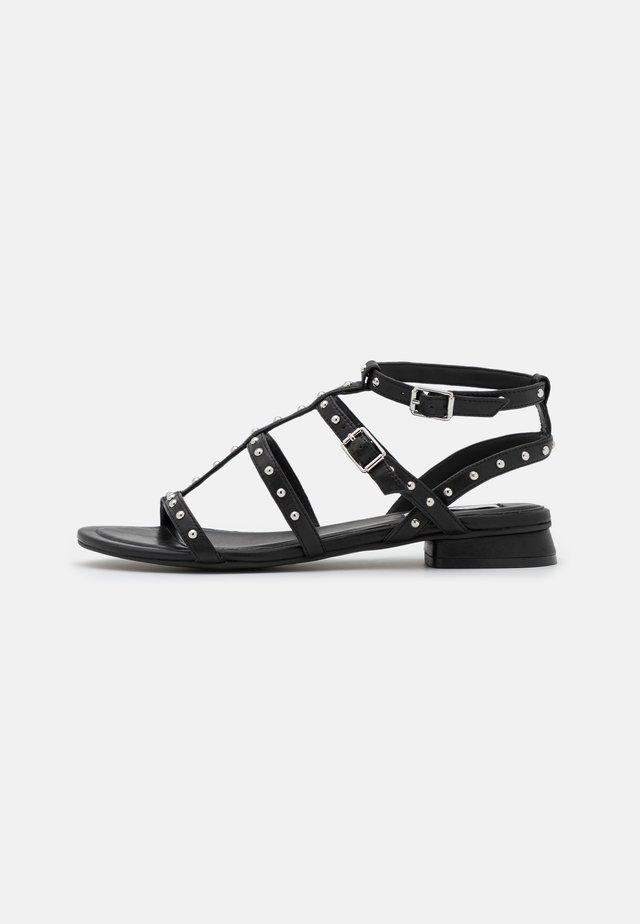 EVELYN - Sandals - black