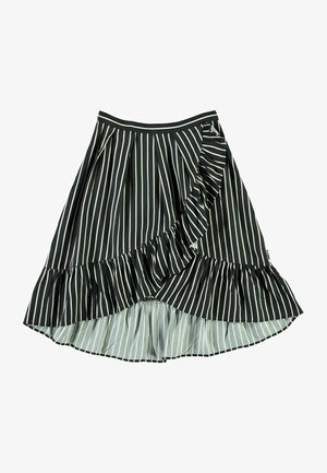 BLONDIE - A-line skirt - vertical bw stripe