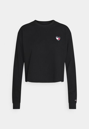 HEART - Collegepaita - black