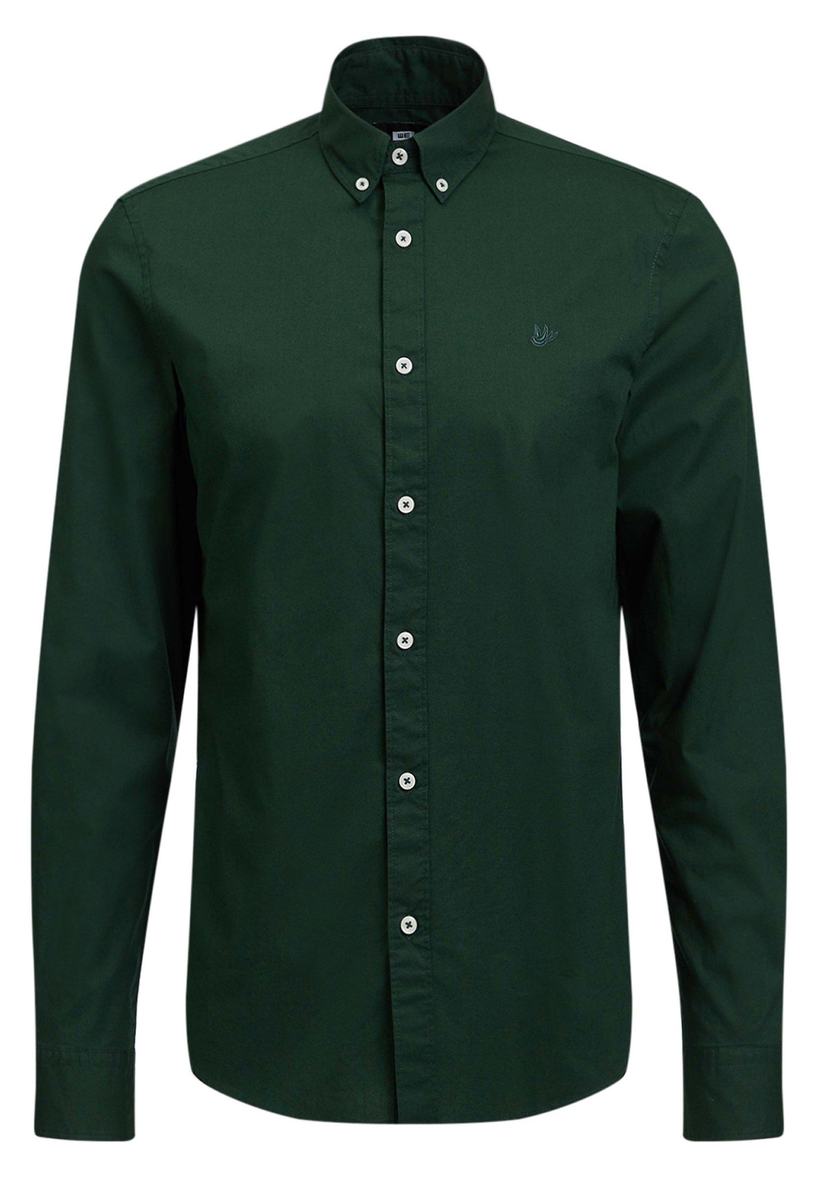 We Fashion Hemd - Dark Green