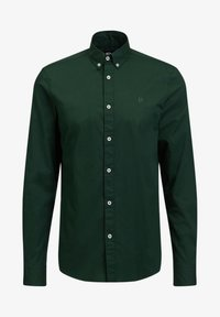 WE Fashion - SLIM FIT  - Camicia - dark green - 5