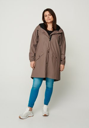 Waterproof jacket - brown