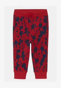 GAP - TODDLER BOY MICKEY MOUSE - Trousers - modern red - 0