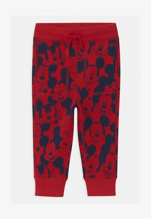 TODDLER BOY MICKEY MOUSE - Stoffhose - modern red