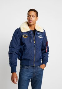 Alpha Industries - INJECTOR  AIR FORCE - Blouson Bomber - new navy - 0