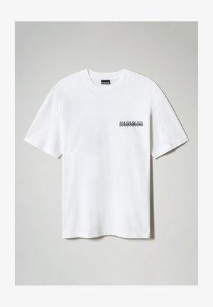 S-HAENA - Print T-shirt - bright white