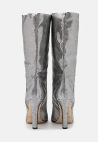 Alberta Ferretti - Kozačky na vysokém podpatku - dark grey - 3