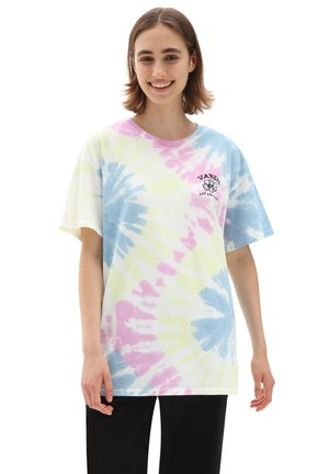 WM MASC OFF SS OVERSIZED - Print T-shirt - orchid