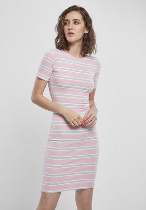 Pouzdrové šaty - girlypink/oceanblue