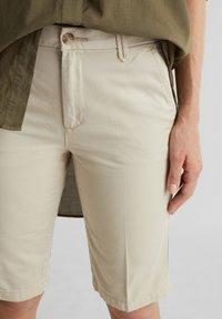 Esprit - Shorts - sand - 5