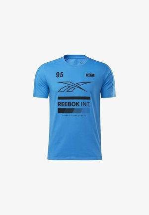 SPEEDWICK GRAPHIC MOVE - Print T-shirt - blue
