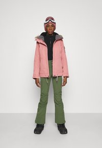Roxy - RISING HIGH - Ski- & snowboardbukser - bronze green - 1