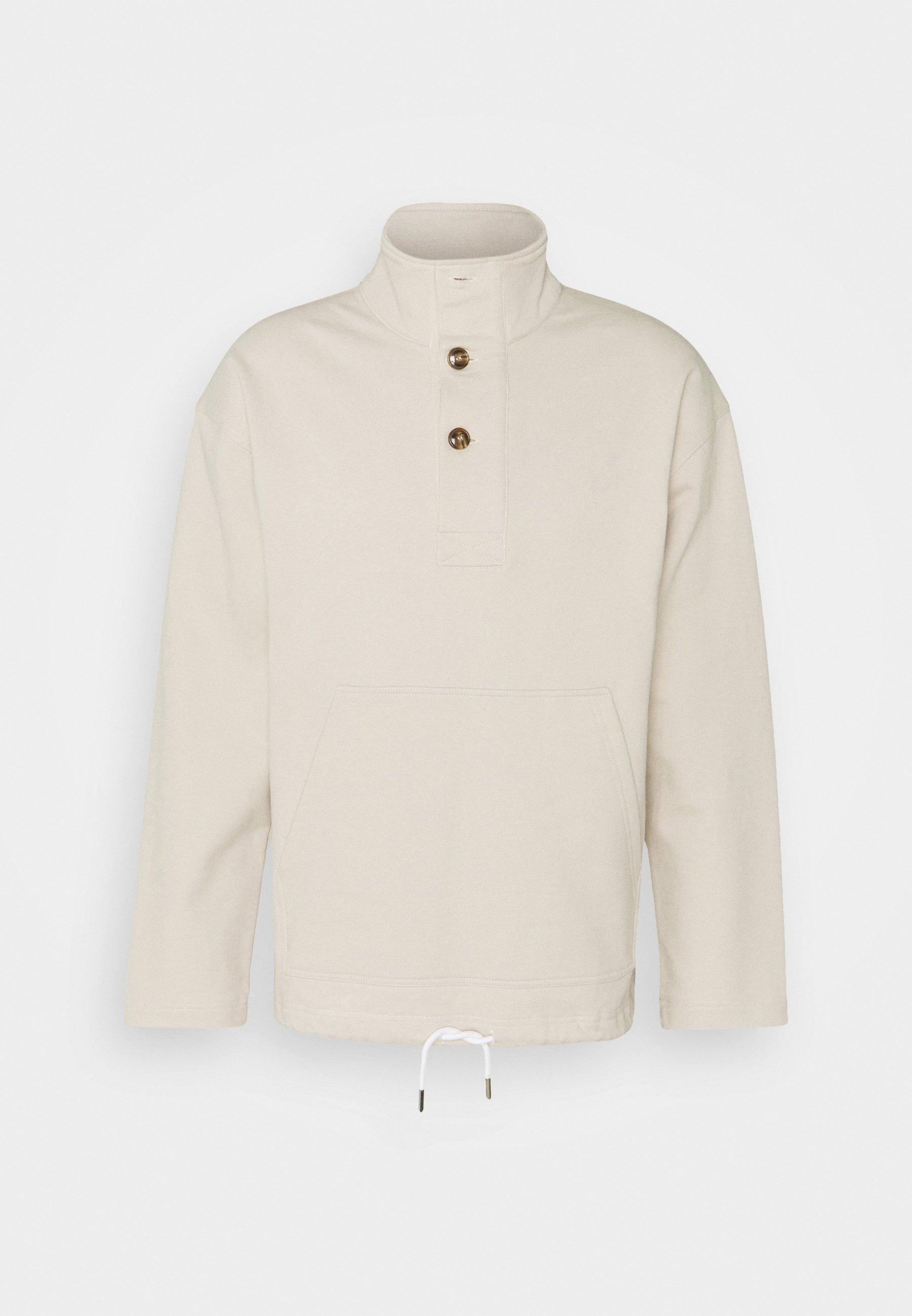 Men HALF PLACKET - Sweatshirt