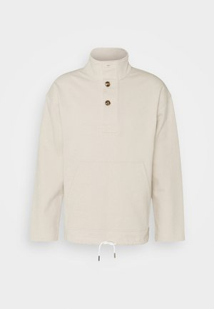 HALF PLACKET - Sweatshirt - stratus grey