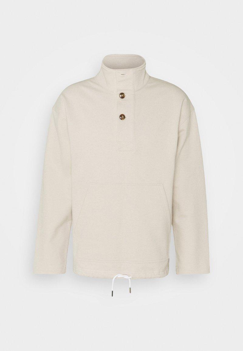 CLOSED - HALF PLACKET - Sweater - stratus grey