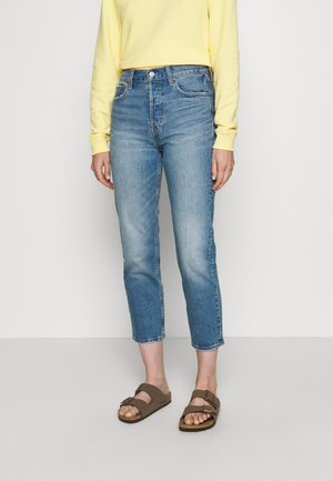 CHEEKY STRAIGHT ATLANTIC - Straight leg jeans - medium indigo