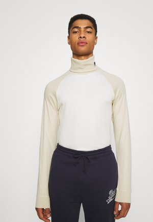 BOSS X RUSSELL ATHLETIC TERON - Long sleeved top - open white