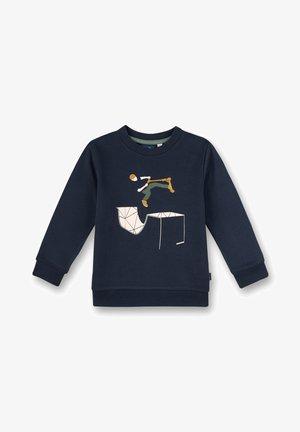 SANETTA KIDSWEAR - JUNGEN-SWEATSHIRT  SCOOTER  - Long sleeved top - blau