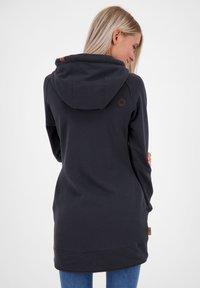 alife & kickin - Zip-up hoodie - moonless - 2