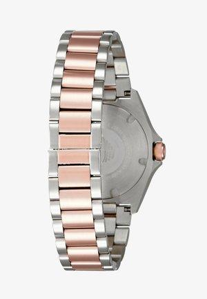Klokke - silver-coloured/rose
