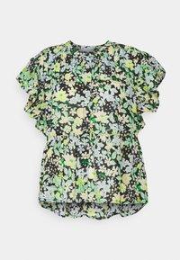 TOM TAILOR DENIM - PRINTED RUFFLE BLOUSE - Blouse - multi-coloured - 4