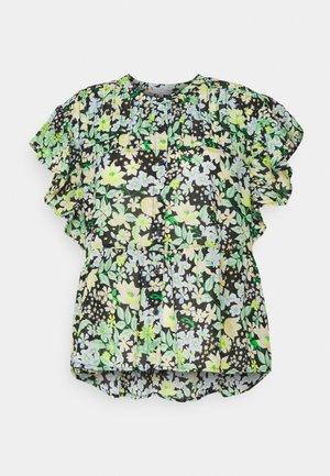 PRINTED RUFFLE BLOUSE - Blusa - multi-coloured