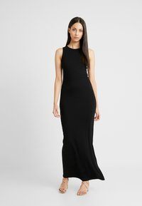 Even&Odd Tall - BASIC MAXI DRESS - Vestido largo - black - 0