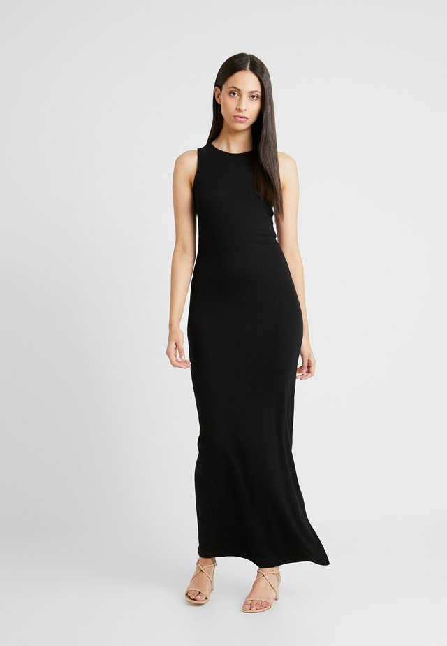 BASIC MAXI DRESS - Maxiklänning - black