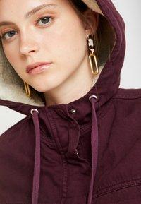 BDG Urban Outfitters - JARED UTILITY JACKET - Cowboyjakker - plum - 3