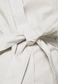 Anna Field - Dressing gown - light grey - 5