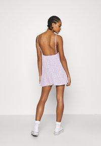 Cotton On - FRENCHIE OPEN BACK MINI - Day dress - sari powder lilac - 2