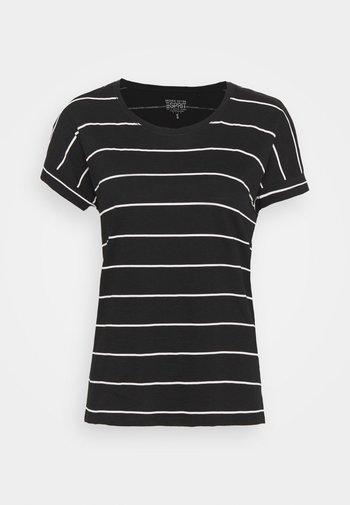 CORE - Print T-shirt - black