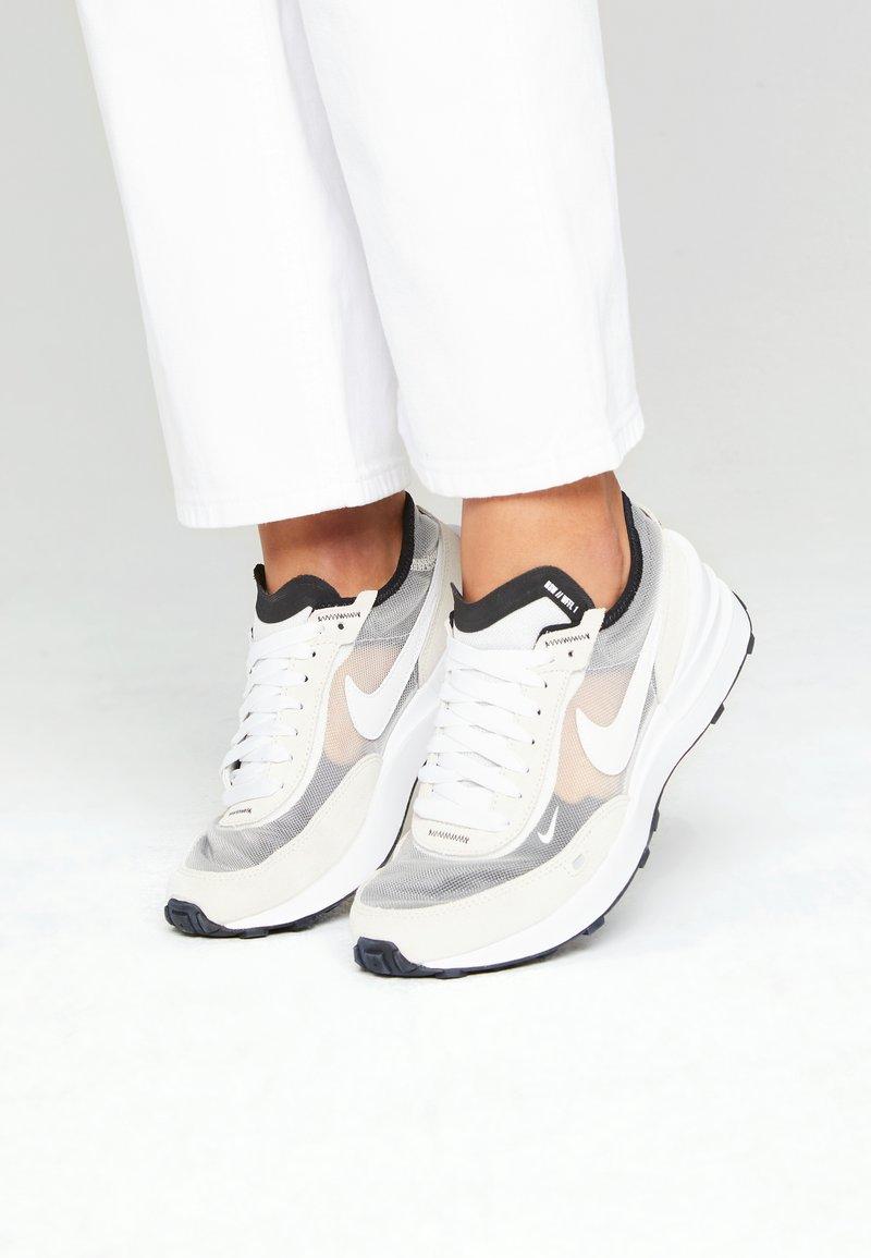 Nike Sportswear - WAFFLE ONE  - Trainers - summit white/white/black/orange