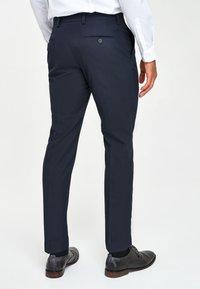 Next - Pantaloni eleganti - dark blue - 1