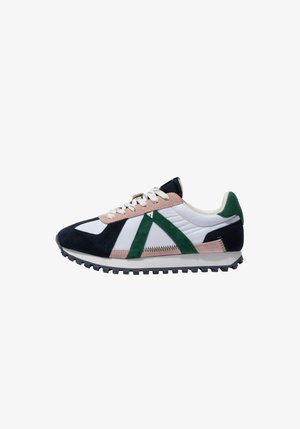 GATE GAT004 - SNEAKER LOW - Sneakers basse - navy pink green