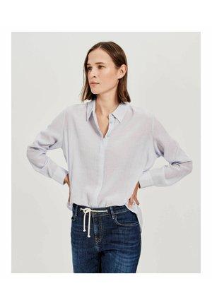 FORELA - Button-down blouse - blue