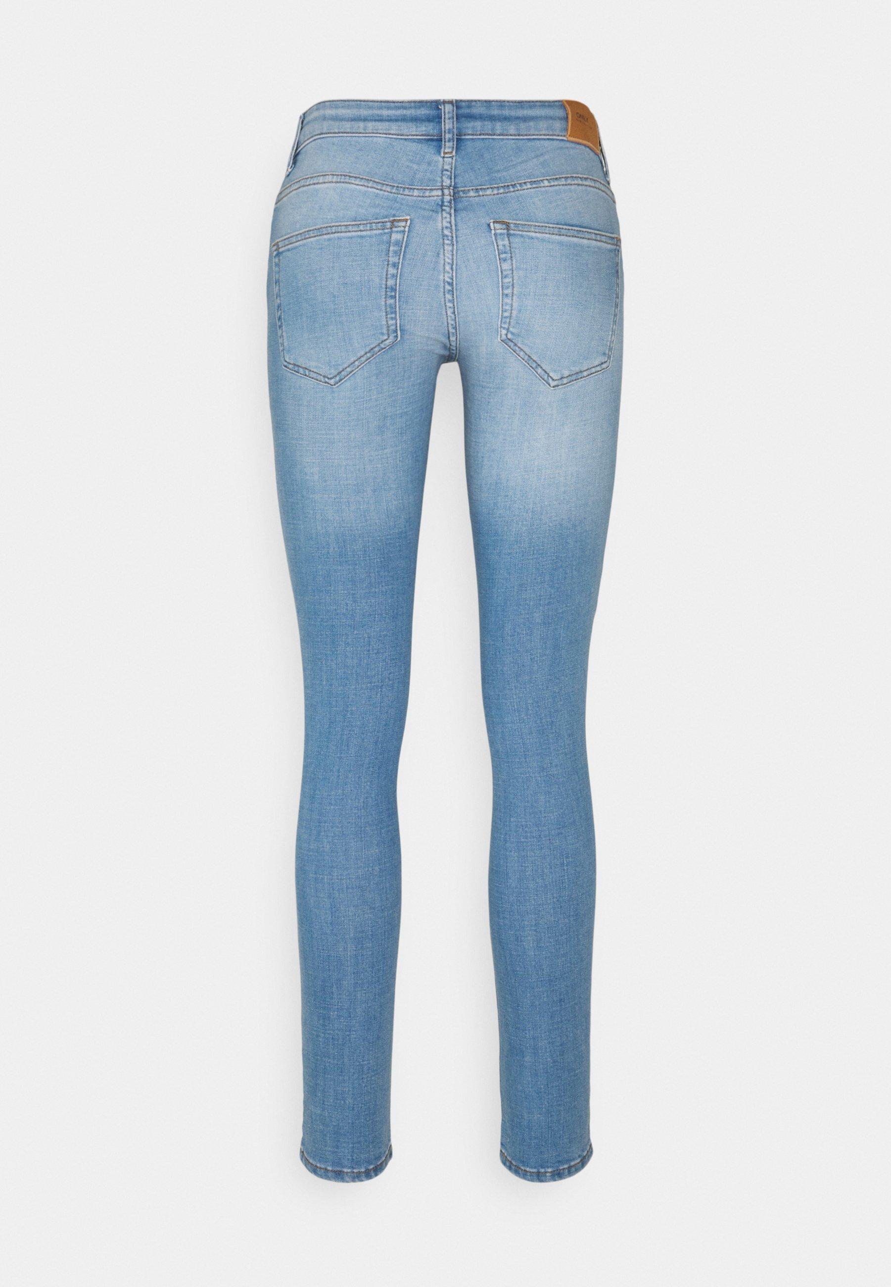 Donna ONLANNE LIFE MID SKINNY  - Jeans Skinny Fit
