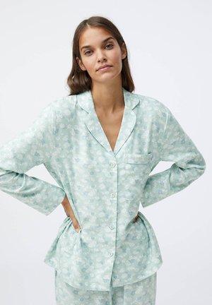 FLORAL - Nattøj trøjer - blue