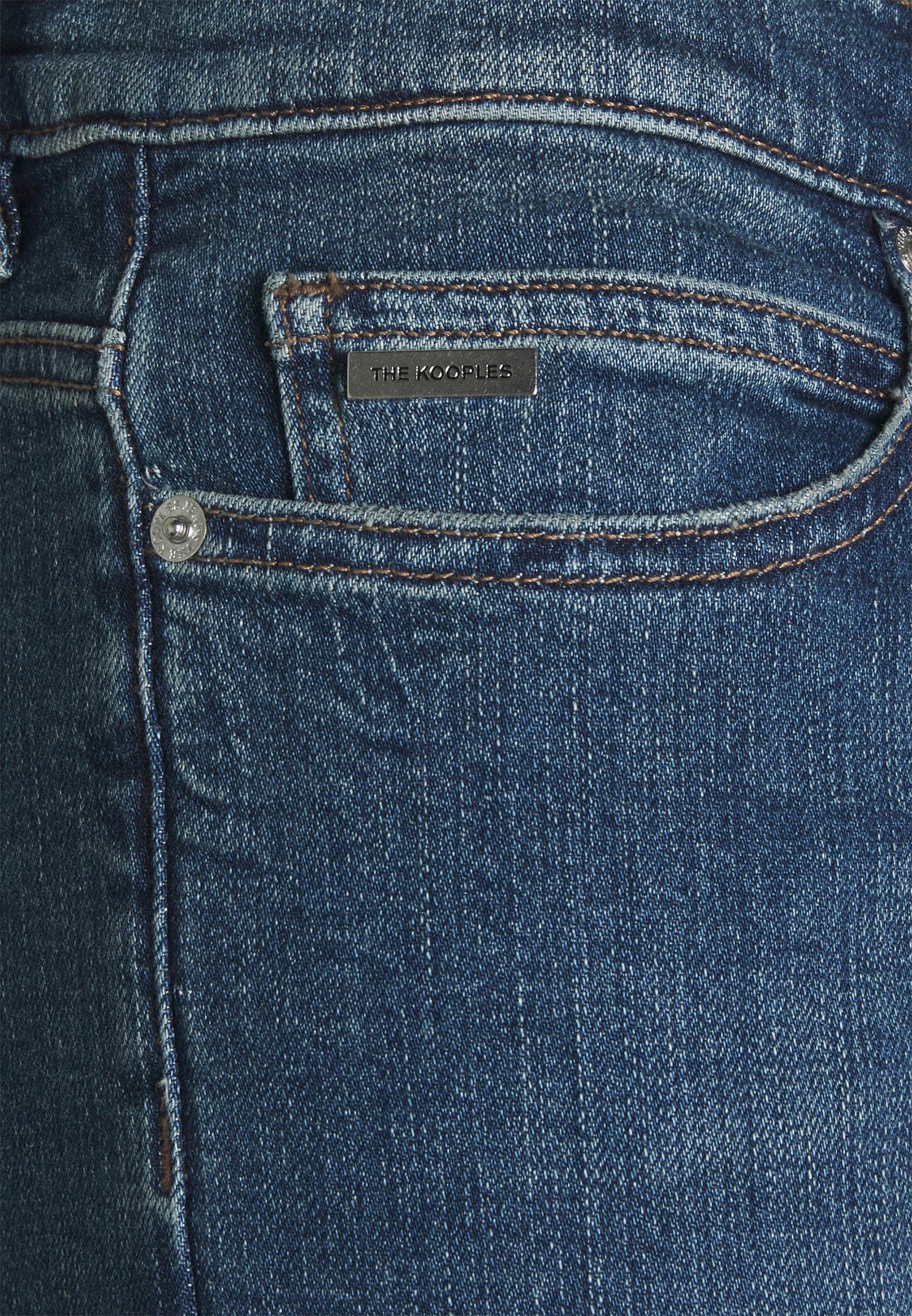 Men WITH ZIPPER DETAIL ON THE BOTTOM - Slim fit jeans