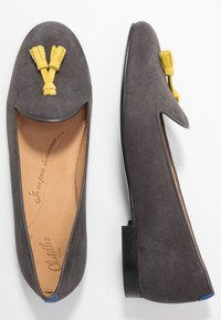 Chatelles - CLASSIC WITH TASSEL - Slip-ons - grey - 3