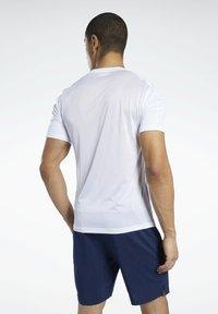 Reebok - WORKOUT READY SPEEDWICK TRAINING 1/2 - Pantaloncini sportivi - blue - 2