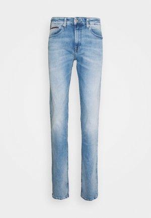 AUSTIN SLIM TAPERED - Jeans Tapered Fit - light-blue denim