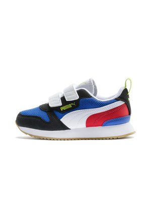 Trainers - palace blue/black/white