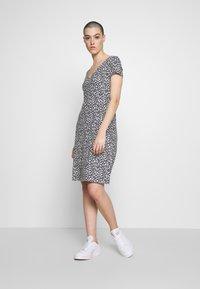TOM TAILOR - DRESS - Jersey dress - navy blue - 1