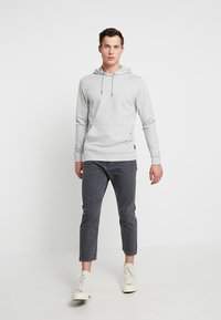 Only & Sons - ONSBASIC HOODIE UNBRUSHED - Hoodie - light grey - 1