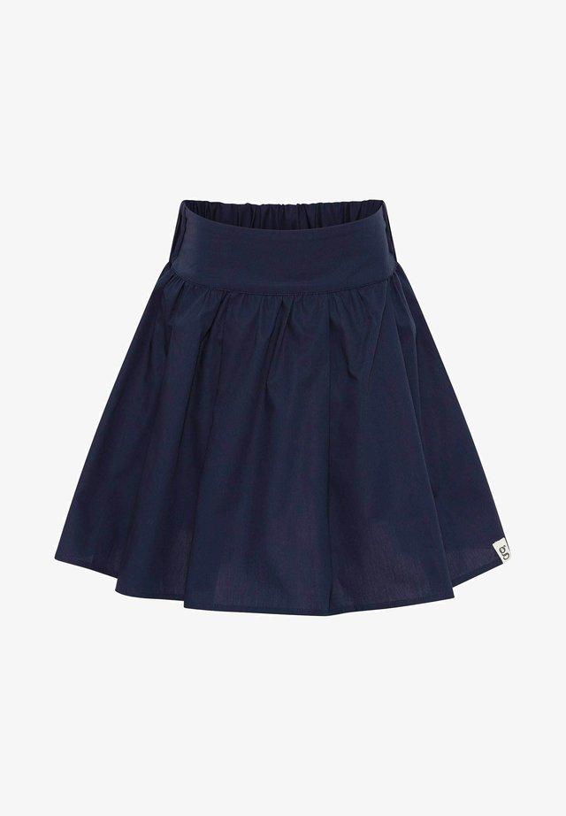 Pleated skirt - blue