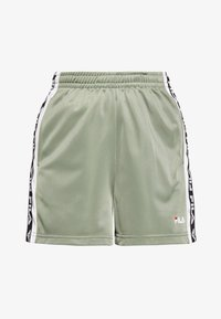 Fila Tall - TARIN HIGH WAIST - Shorts - sea spray/bright white - 4